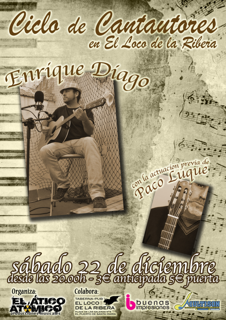 Enrique Diago + Paco Luque