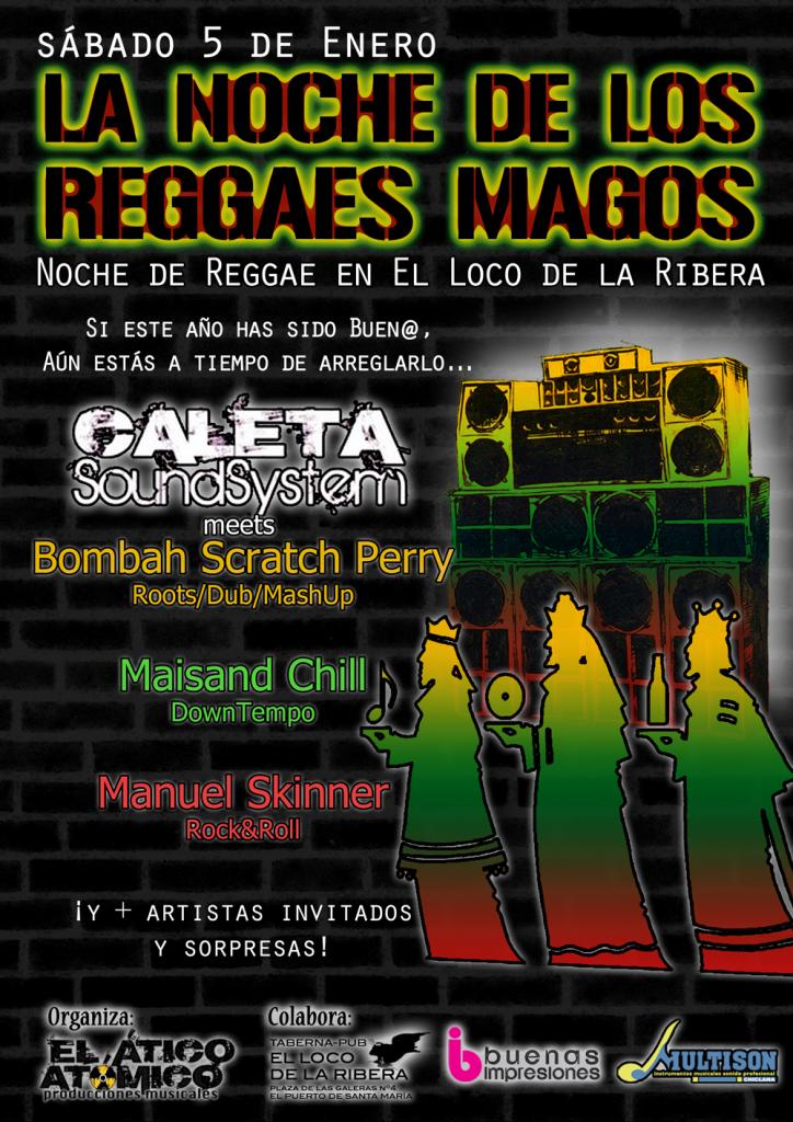 noche de los Reggaes Magos